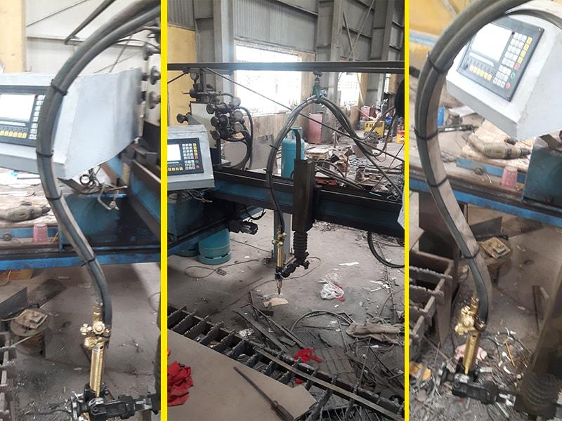 Nâng cấp máy cắt Oxy/Gas CNC Tại Văn Lâm - Hưng Yên