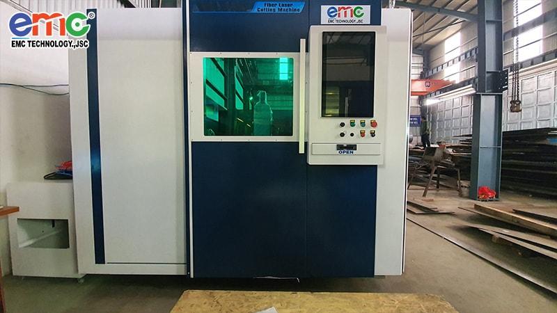 Thạch Thất: máy cắt Laser Fiber 1530DF thứ 2 tại Thép Cường Thành