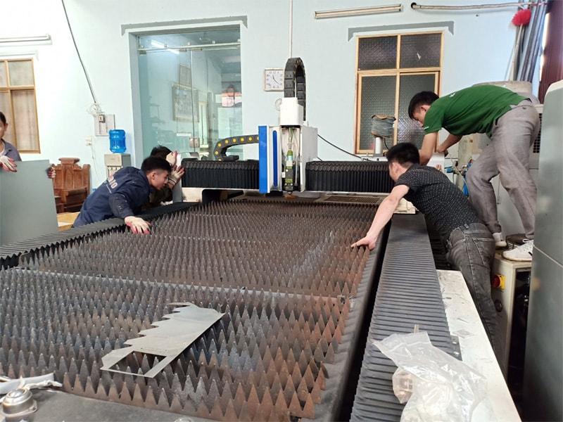 Nâng cấp máy cắt Laser tại Bắc Giang