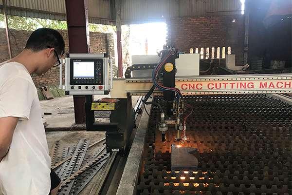 Máy cắt cnc plasma emc-3000 tại Thanh Hóa.