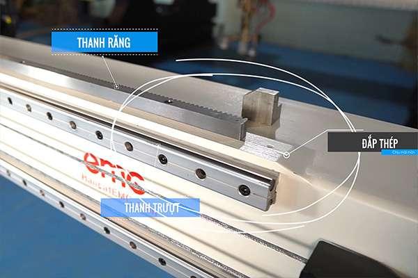 Khung bệ máy cắt cnc plasma EMC