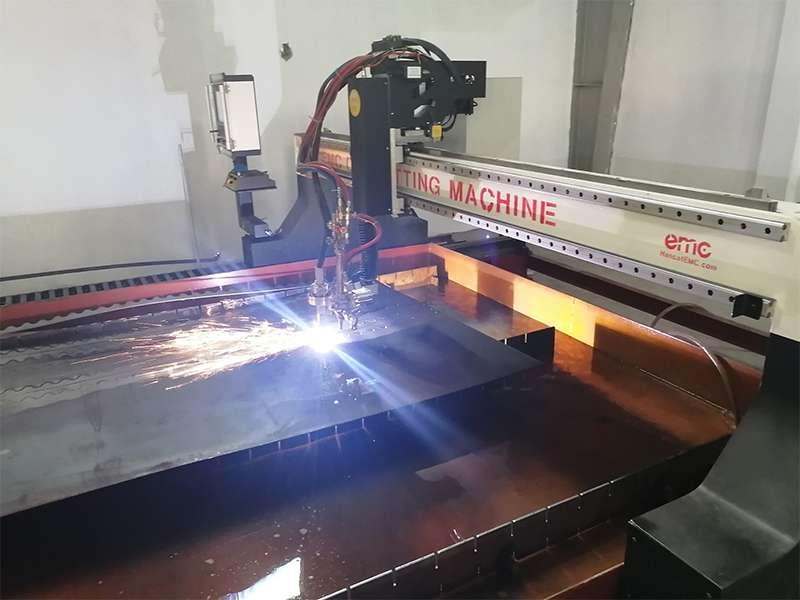 Máy cắt Plasma CNC hạng nặng tại Sơn Tây
