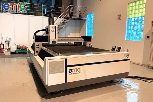 Máy cắt laser fiber EMC-1530FI tại Công Ty Mỹ Lan - Trà Vinh