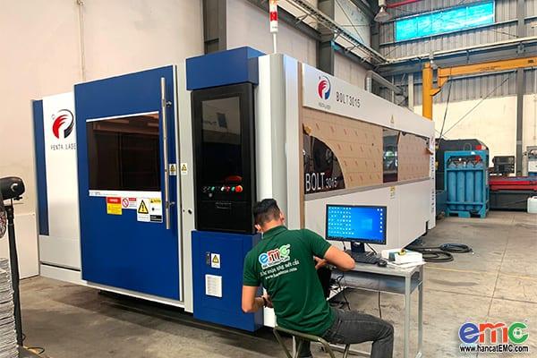 Máy Cắt Penta Laser Bolt Nguồn IPG 6000W tại Bình Dương