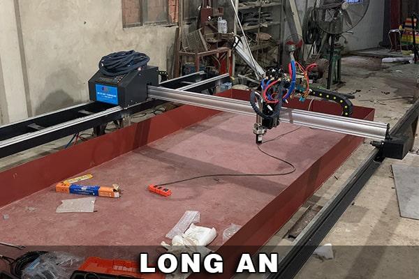 Máy cắt cnc mini Plasma 2 Ray EMC-1600 tại Long An