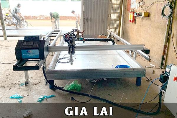Máy cắt cnc mini Plasma 2 Ray EMC-1600 tại Gia Lai