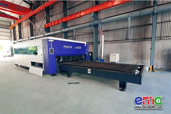 Máy cắt Penta Laser tại doanh nghiệp tư nhân Phương Nam
