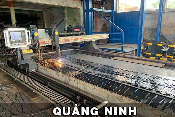 Máy cắt Plasma CNC EMC-3000 tại Quảng Ninh