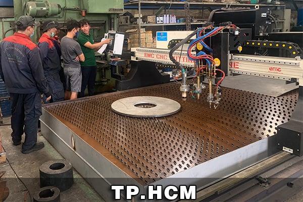 Máy cắt Plasma CNC EMC-3000 tại TPHCM
