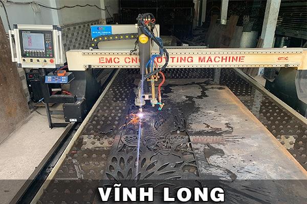 Máy cắt CNC Plasma EMC-3000 được lắp đặt tại Vĩnh Long
