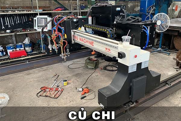 Máy cắt Plasma CNC EMC-3000 tại Củ Chi