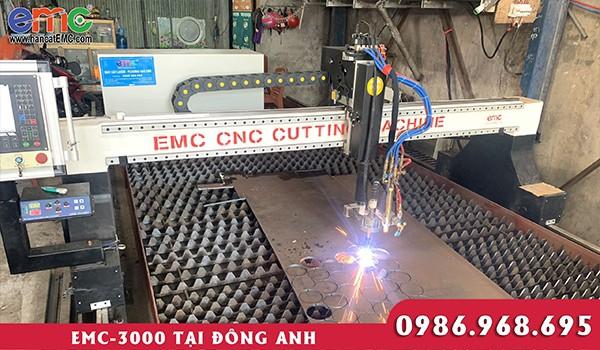 Máy cắt plasma cnc EMC 3000 tại Hà Nội
