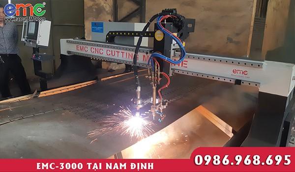 Máy cắt plasma cnc EMC 3000 tại Nam Định