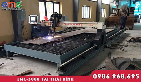 Máy cắt plasma cnc EMC 3000 tại Thái Bình