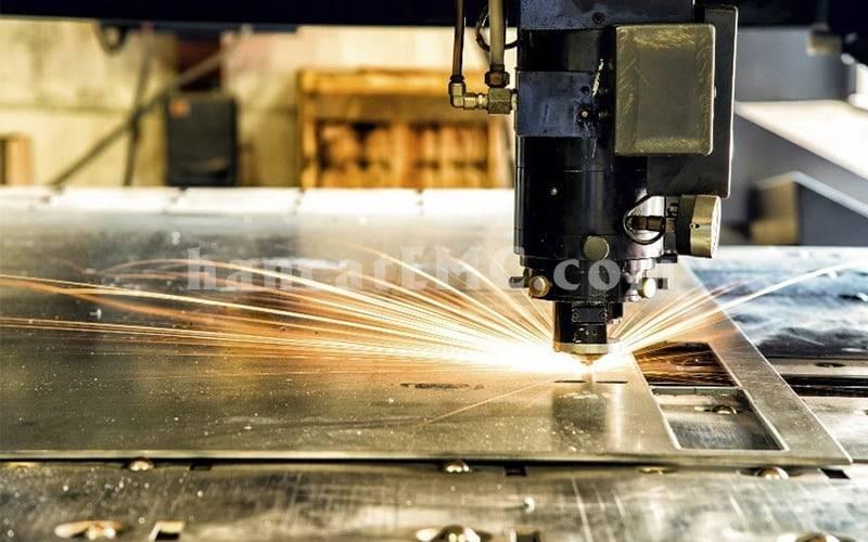 cắt laser inox bằng laser fiber