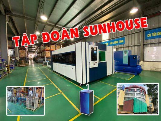 Máy cắt laser fiber tại Tập đoàn Sunhouse