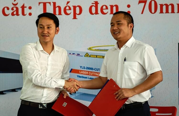 Máy cắt laser 20KW: Lễ Ký Kết Hợp Đồng Máy Cắt Laser Fiber Công Suất 20Kw – Lớn Nhất Đông Nam Á