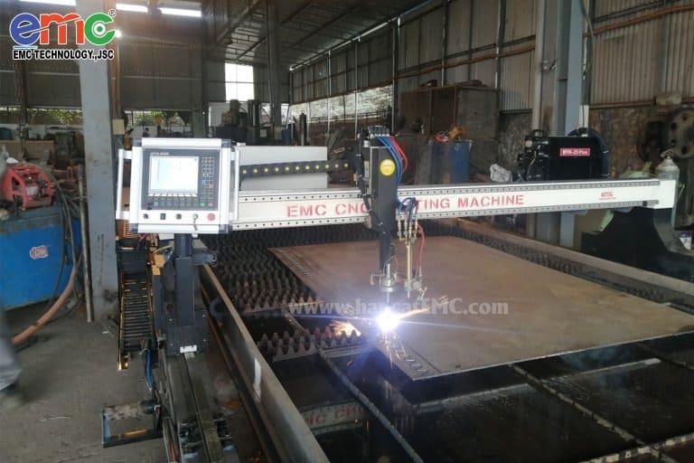 Máy cắt plasma cnc EMC- tại Hải Phòng