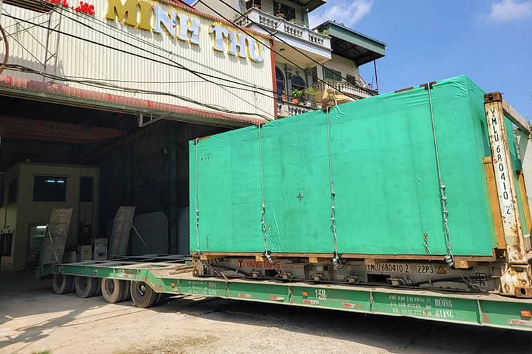 Bàn giao máy cắt laser bàn chuyển đổi cho doanh nghiệp Minh Thu