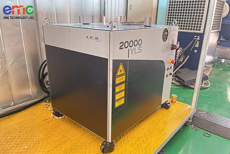 Nguồn cắt laser 20kw Lớn Nhất Đông Nam Á