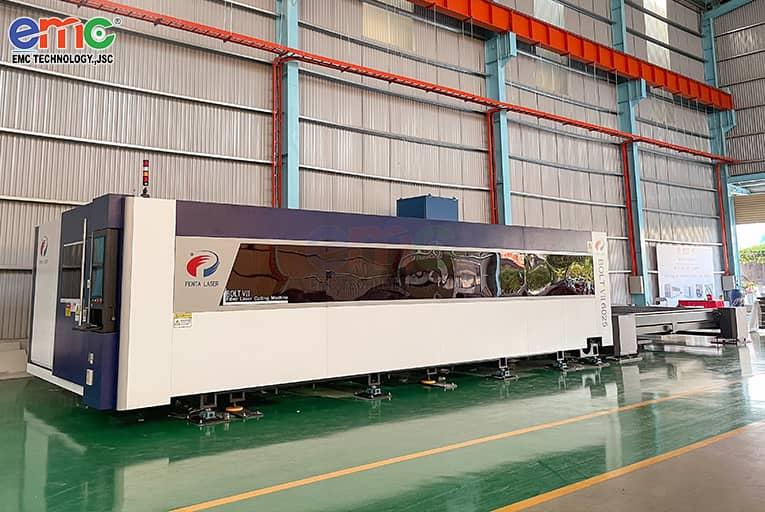 máy cắt laser công suất lớn nhất Đông Nam Á