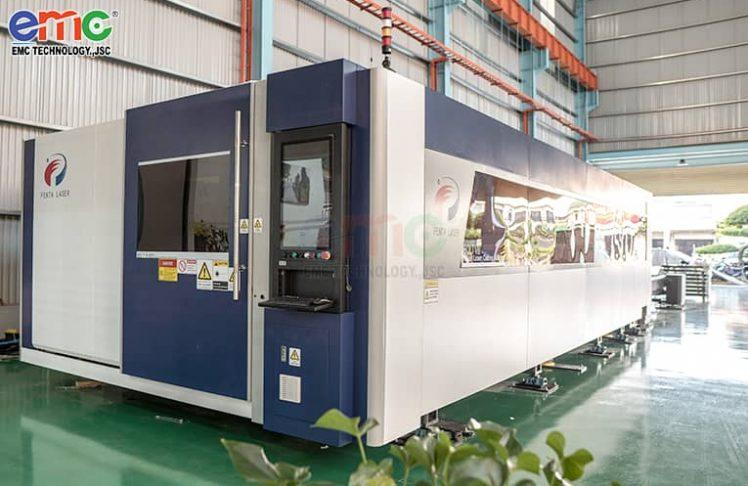 Máy cắt laser công suất 20.000W đầu tiên tại Việt Nam