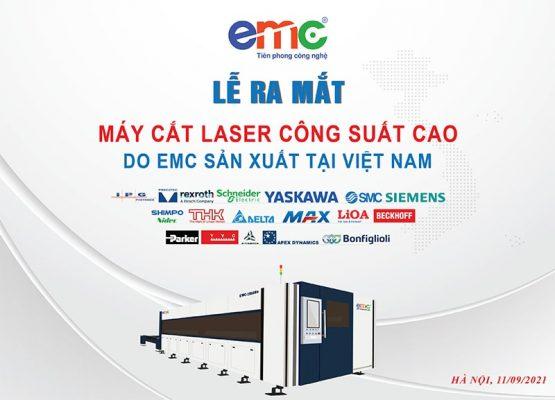 poster lễ ra mắt máy cắt laser công suất cao